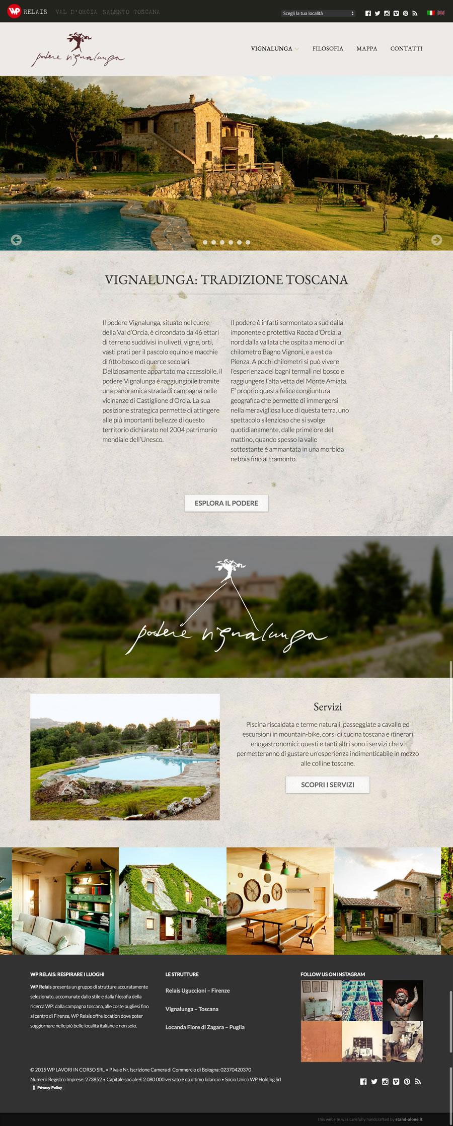 Vignalunga   Toscana   WP Relais